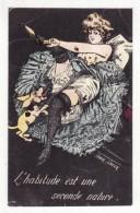 Illustrateur  SAGER   Femme Dénudée - Sager, Xavier