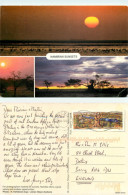 Sunsets, Namibia Postcard Posted 2007 Stamp - Namibie