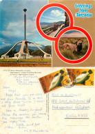 Uhuru Monument, Arusha, Tanzania Postcard Posted 1977 Stamp - Tanzania