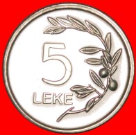 § OLIVE: ALBANIA ★ 5 LEKE 2011 MINT LUSTER! LOW START★ NO RESERVE! - Albania