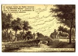 17903   -   Les Petites Annonces De La Dernière Heure - Bruxelles, Le Pont De Laeken En1793 - Advertising