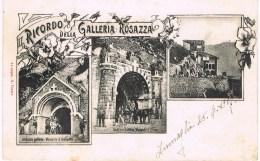 BIELLA - RICORDO DELLA GALLERIA ROSAZZA - 1907 - Biella