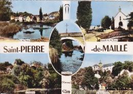 CPSM    SAINT PIERRE DE MAILLE  86 - Frankrijk