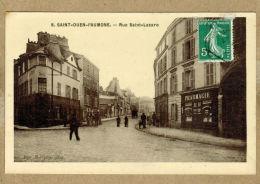 Saint-Ouen-l'Aumône (Val-d'Oise) Rue Saint-Lazare - Saint-Ouen-l'Aumône