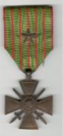 Médaille Croix De Guerre 1914-1917 + Etoile De Bronze - Militaria