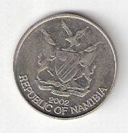 Pièce Namibie. Pièce De 10c . 2002 - Namibie