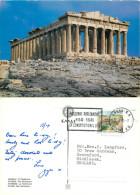 Parthenon, Athens, Greece Postcard Posted 1995 Stamp - Grèce