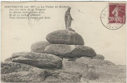Lozere : Serverette, La Vierge Du Rocher - Francia