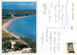 Tsilivi, Zakynthos, Greece Postcard Posted 1992 Stamp - Grèce