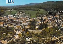 58 - LORMES : Vue Générale Aérienne Avec I.MP. Les Graviers - CPSM GF - Nièvre - Lormes