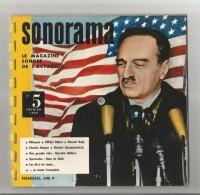 SONORAMA N° 5 DE FEVRIER 1959 COUVERTURE MIKOYAN (6 DISQUES INTERIEUR) - Collectors