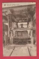 Soignies- Carrières Du Hainaut - Le Zinik -Vue D'un Châssis à Scier - Personnage -1952 ( Voir Verso ) - Soignies