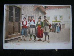 Co-118 / Costume Du Montenegro -  Risano / Risan / Circulé - Montenegro