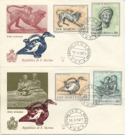 SAN MARINO - FDC ALA 1971 - ARTE ETRUSCA - FDC