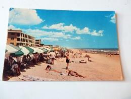 Carte Postale Ancienne : Beach Scene At OCEAN CITY, MARYLAND, Stamp Kennedy - Ocean City