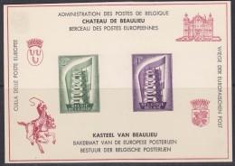 Europa Cept 1956 Belgium Luxesheet ** Mnh (31915) - Europa-CEPT
