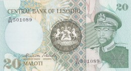 Central Bank Of  LESOTHO 1984. - Lesotho