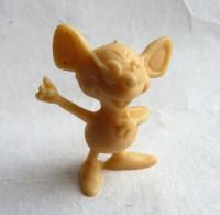 FIGURINE PUBLICITAIRE Chewing Gum ZENO 1982 - MAYA L'ABEILLE 19 SOURIS LEVE LE BRAS Monochrome - Pas DUNKIN - BIENE MAJA - Figurines
