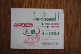 CPA ETABLISSEMENTS PIERRE MARCHAL A TOULON  SUSPENSION FM  4 CV RENAULT - Toulon