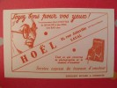Buvard Hoël à Laval. Lunettes Photographie. Vers 1950. Illustration - H