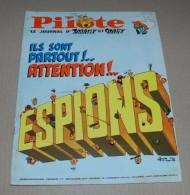 PILOTE 394 Ils Sont Partout ! De Gotlib + Pilotorama Dans L'air Et Dans L'espace - Pilote