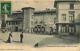 42 - 250816 - CHAZELLES-SUR-LYON - Place De L'Église - Sonstige Gemeinden