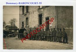 DOMMARY BARONCOURT-Park Des Pionniers-CARTE PHOTO Allemande-Guerre 14-18-1 WK-France-55- - France