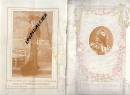Programme Théâtre REJANE Saison 1907-1908 Madame Sans Gêne SARDOU MOREAU SIGNORET VARENNES MIRET NARCEY MAGNIER DUTIL - Programmi
