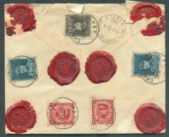 Enveloppe ASSURE KEPI Obl. Sc CHARLEROI 27-9-1931 Vers Metz - 11358 - 1931-1934 Képi