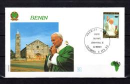 1993 : PAPE JEAN PAUL II  AU BENIN Pope John Paul II Jonas Paulius II Papa Giovanni Paolo II Joao Paulo II - Pausen
