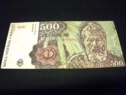 ROUMANIE 500 Lei 04/1991, Pick KM N°98 B , ROMANIA - Roumanie
