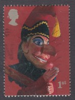 GREAT BRITAIN 2001    Punch And Judy Show Puppets - Mr. Punch 1st  SG2226 Fine Used