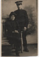 REAL PHOTOGRAPHIC POSTCARD SIZED - SALVATION ARMY PEOPLE - PHOTOGRAPHED BY GALES STUDIOS - Missions