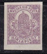 Hongrie 1920-1920 N° Y&T :  Jo  13 ** - Zeitungsmarken