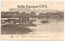 58 - DECIZE - L´Extraction Du Sable De La Loire ++++ L´Hirondelle L. A., #1208 ++++++ Bon état - Decize