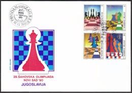 Yugoslavia Zagreb 1990 / 29th Chess Olympiad Novi Sad '90 - Schaken