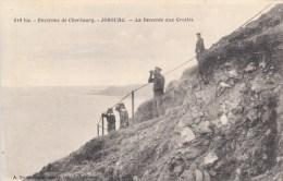 50 - JOBOURG  N° 518 Bis - La Descente Aux Grottes - Environs De CHERBOURG 1929 - Otros Municipios