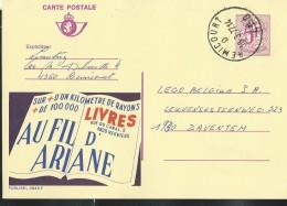 Publibel Obl. N° 2645 ( AU FIL D'ARIANE; Livres-Verviers) Obl: Remicourt 18/03/1977 - Publibels
