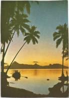 R2373 Moorea - Coucher Sunset Tramonto / Non Viaggiata - Polinesia Francese
