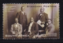 SOUTH AFRICA, 2012, Mint Hinged Stamps SA Native National Congress, Sa2218 , #9420 - Unused Stamps