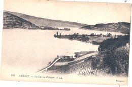 -74- ANNECY  Le Lac Vu D'Angon Neuve TTB - Annecy