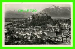 SALZBURG, AUTRICHE -  MIT HOHER GOLL U UNTERSBERG -  ALTSTADT GES VOMM IMBERG IM HINTERGRUND - - Salzburg Stadt