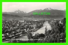 INNSBRUCK, AUTRICHE - GEGEN SUDEN MIT SERLES 2719 M UND NOCKSPITZE 2406 M - - Innsbruck