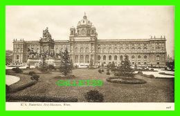 WIEN, AUTRICHE - VIENNE - K. K. NATURHIST HOF-MUSEUM - J. LOWY, 1905 - UNDIVIDED BACK - - Musées