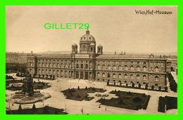 WIEN, AUTRICHE - VIENNE - HOF-MUSEUM - KUPFERDRUCK-KUNSTLERKARTE, 1910  - - Musées