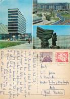 Katowice, Poland Postcard Posted 1972 Stamp - Pologne