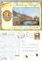 Karlovy Vary, Czech Republic Postcard Posted 1992 Stamp - Tchéquie