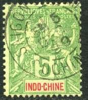 Indochine Y&T 17 ° - Usati