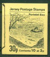JERSEY 1972 PORTALET BAY - LANDSCAPES BOOKLET MNH M04784 - Jersey
