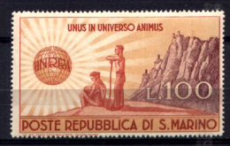 San Marino 1946 Sass.296 **/MNH VF/F - Unused Stamps